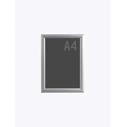Snäppram, Poster frame A4, 25mm aluminiumprofil