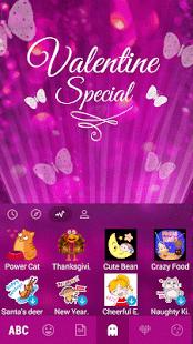 Butterfly-Emoji-Theme-for-Kika 4
