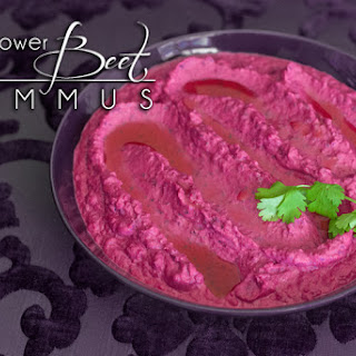 Roasted Beet Cauliflower Hummus