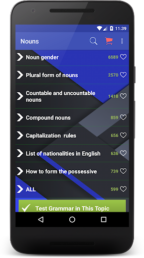 English Grammar 6.1.3 screenshots 2