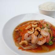 Shrimp with Cashews