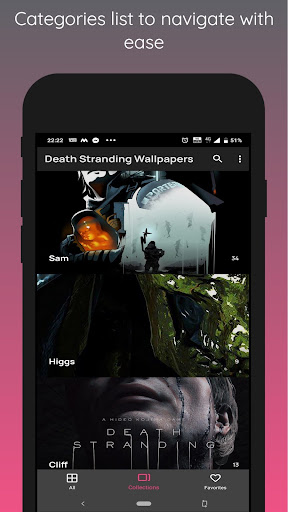 Capturas de pantalla de Death Stranding Wallpapers 2