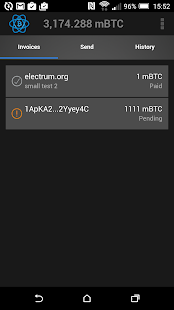 Electrum Bitcoin Wallet- screenshot thumbnail