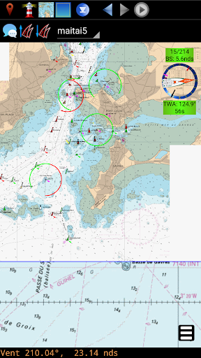 qtVlm Navigation and Weather Routing 5.9 screenshots 4
