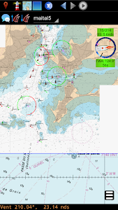 qtVlm Navigation and Routing screenshot 1