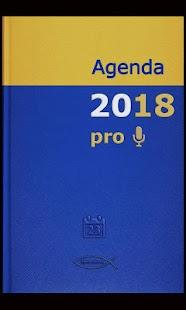Agenda 2018 pro: miniatura de captura de pantalla