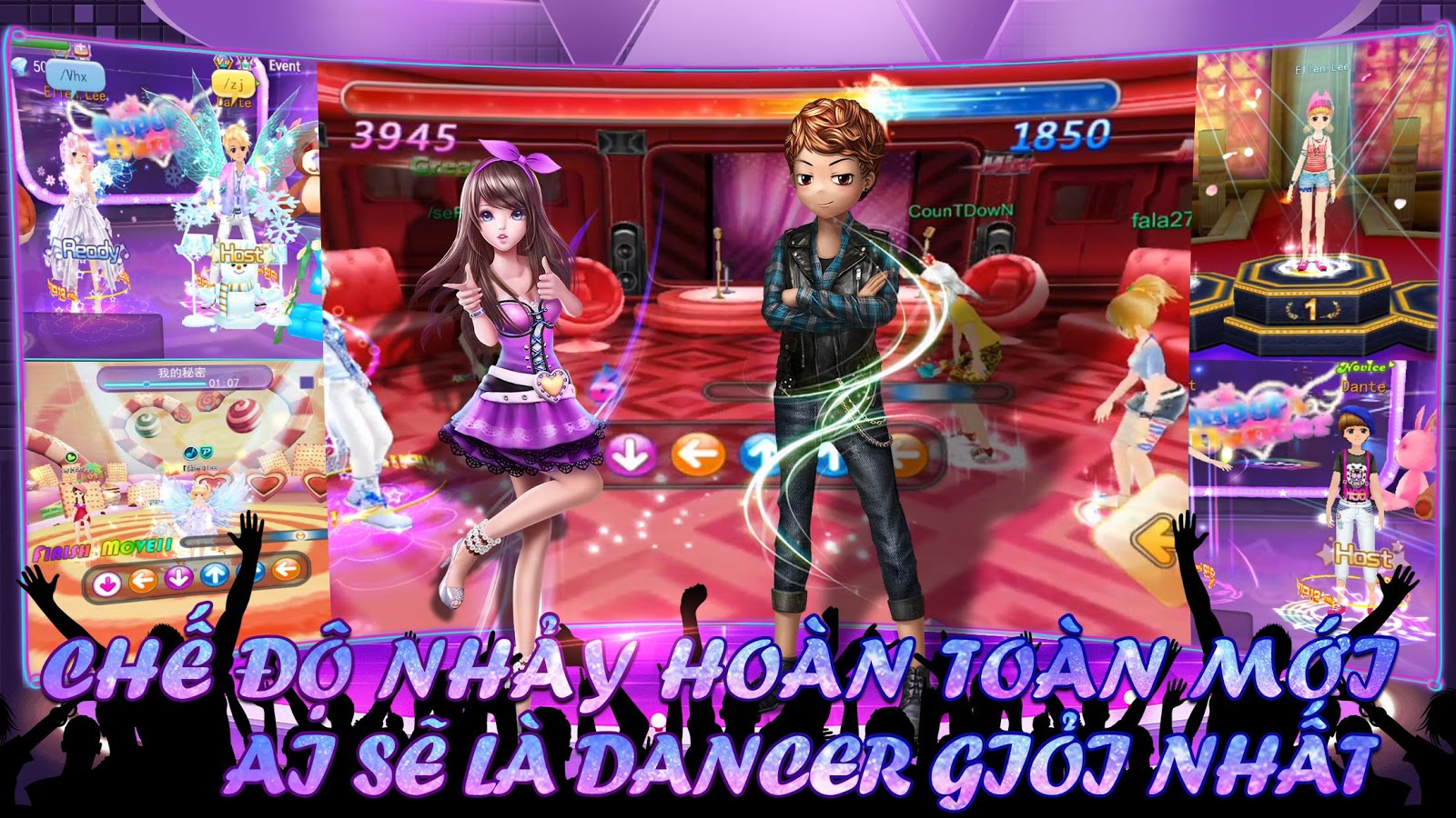 Super Dancer VN: captura de pantalla