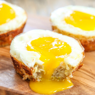 Cauliflower Hash Egg Cups