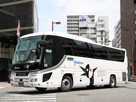 西日本鉄道 夜行高速用車両 8545