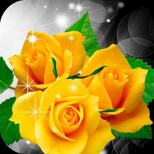 Yellow Roses Live Wallpaper