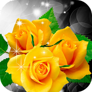 Yellow Roses Live Wallpaper