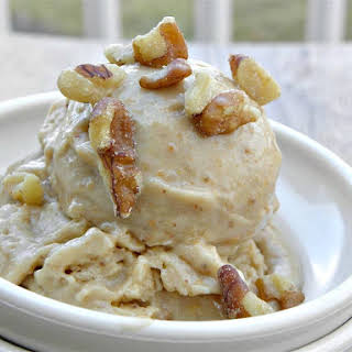 Peanut Butter Toffee Dairy Free Ice Cream.
