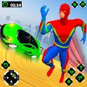 Grand Speed Hero Mega Ramp Car Racing icon