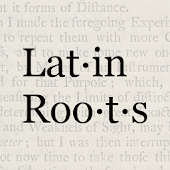 Latin Root Words