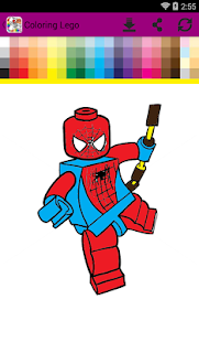 Lego Coloring - náhled