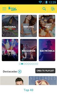 Bitel Música - náhled