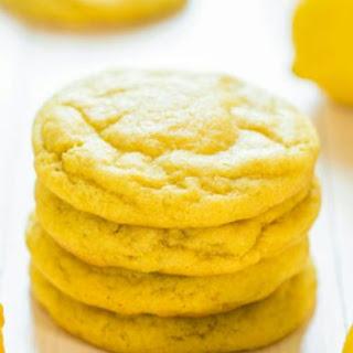 Ice Box Lemon Cookies