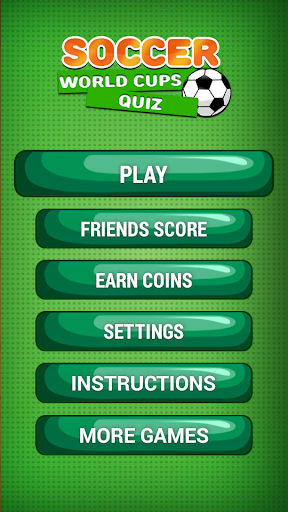 Soccer World Cups Quiz Game
