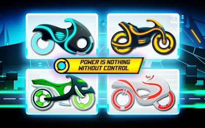 Bike Race Game: Traffic Rider Of Neon City APK screenshot thumbnail 1