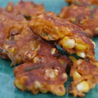 Spicy Corn Cakes Recipe