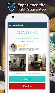 Takl - On-Demand Home Services- screenshot thumbnail