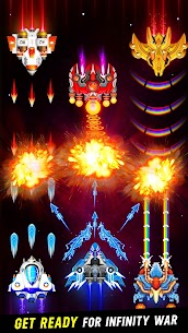 Space Shooter: Galaxy Attack MOD Apk 1.426 (Unlimited Money) 6