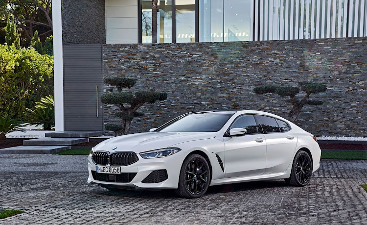 The 8 Series Gran Coupé blends stylish allure with family practicality.