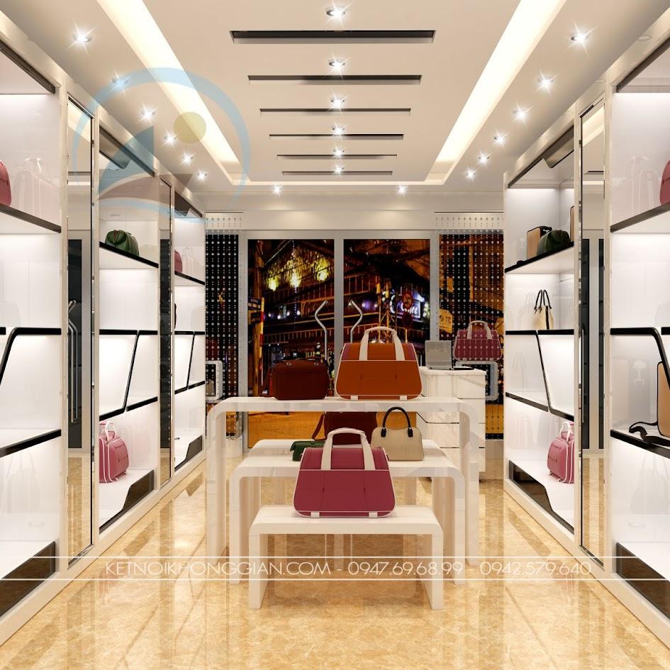 thiết kế shop túi xách 2