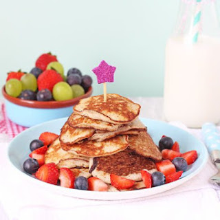 Two Ingredient Pancakes for Baby Led Weaning Recipe