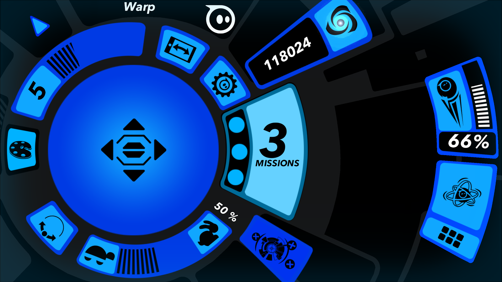 Sphero- screenshot