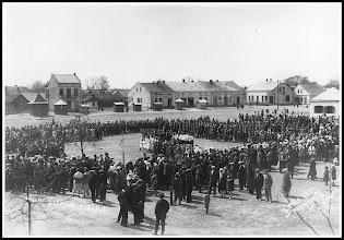 Photo: 3 maja 1931 na rudnickim rynku. (Skan zdjęcia udostępnionego przez Panią Zofię Chmiel)