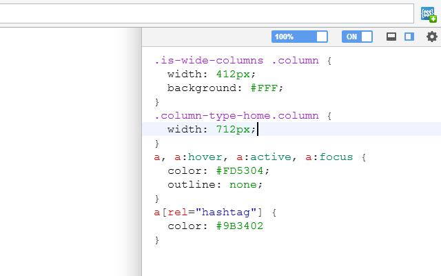 User CSS