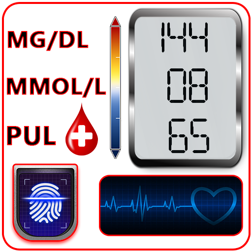 Icon for Blood Sugar Check Diary : Glucose Test Log History