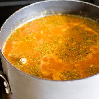 Mexican Tripe Soup (Pancita/Menudo).