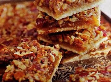 Cookie Challenge: Pecan Bars with Cherries