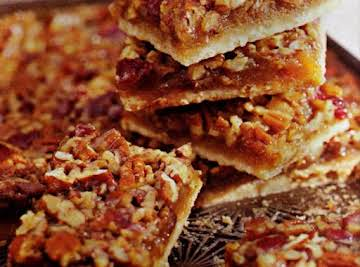 Cookie Challenge: Pecan Bars with Cherries