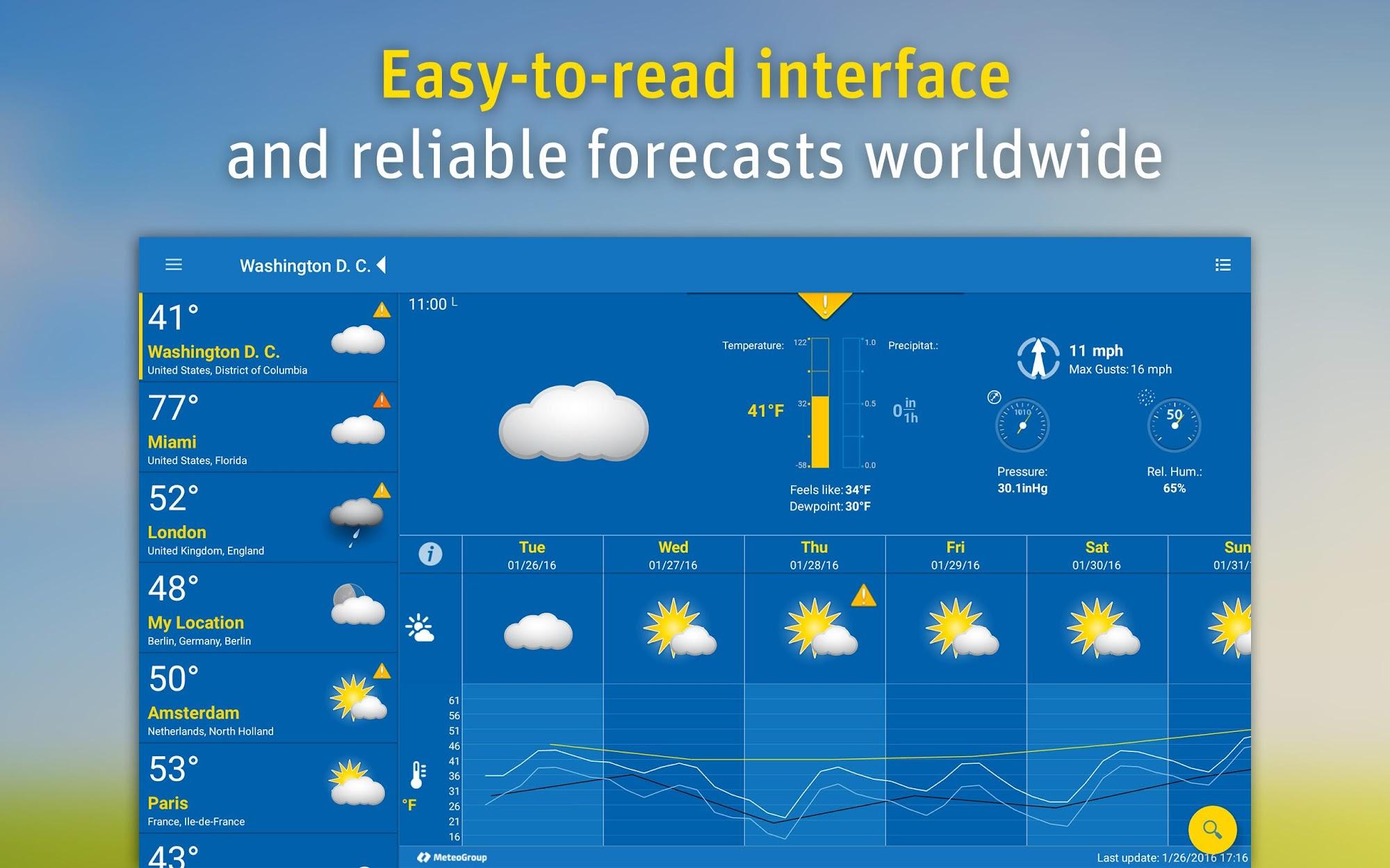 WeatherPro screenshot #6