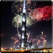 Fireworks in Dubai Video LWP