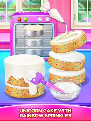 Unicorn Food - Cake Bakery 2.1 Screenshots 9