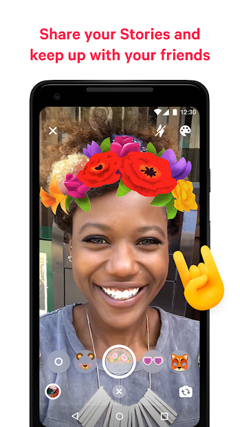 Screenshot - Messenger – Text and Video Chat for Free