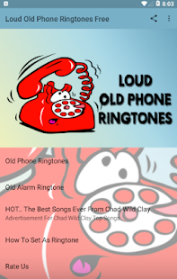 Loud Old Phone Ringtones Free Screenshot