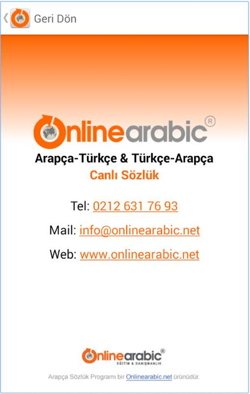 Free Arabic Turkish Dictionary- screenshot