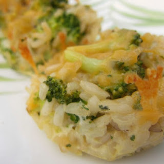 Cheesy Broccoli Cups- Whole Foods Version