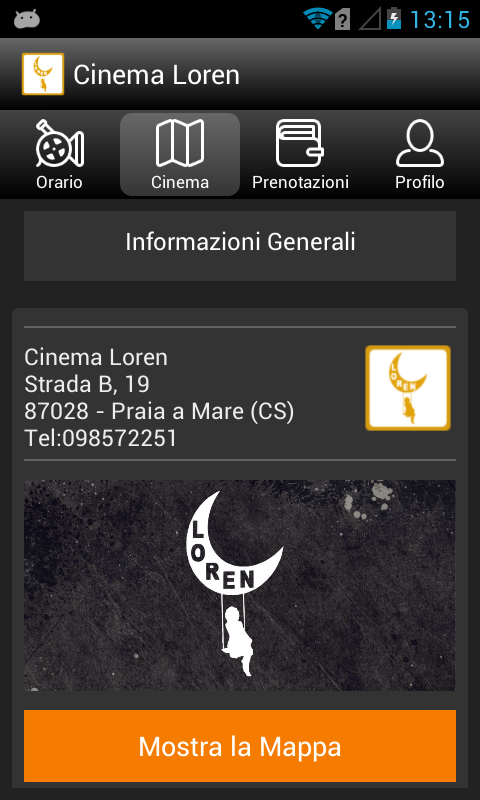 Cinema Loren- screenshot