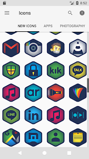 Bemmer - Icon Pack Screenshot