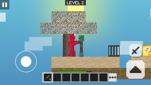 Stickman vs Multicraft: Lucky Block Craft 1.0.0 screenshots 6