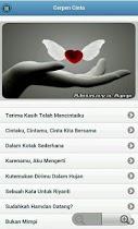 Cerpen Cinta - screenshot thumbnail 02