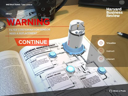 HBR Augmented Reality- screenshot thumbnail