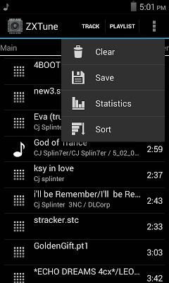 ZXTune - Chiptunes player - screenshot