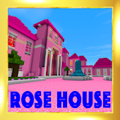 2018 Pink house of princess map for MCPE